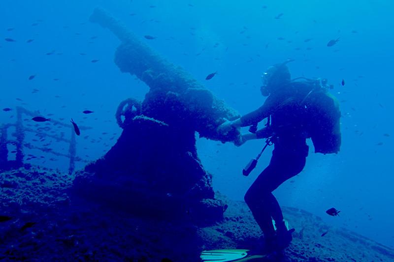 Diving campeggio in Sardegna