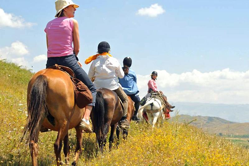 Escursioni a cavallo in Sardegna