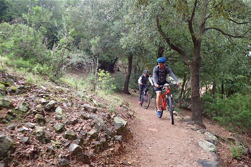 Escursioni mountain bike in Sardegna