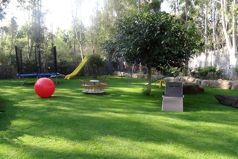 Campeggio per la famiglia e i bambini