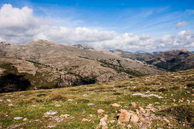 Gennargentu mountain in Sardinia