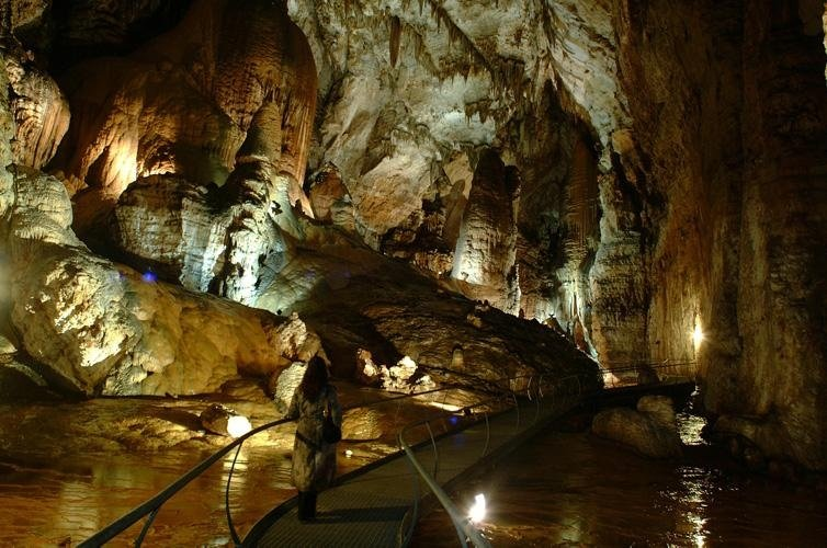 La grotta Su Marmuri