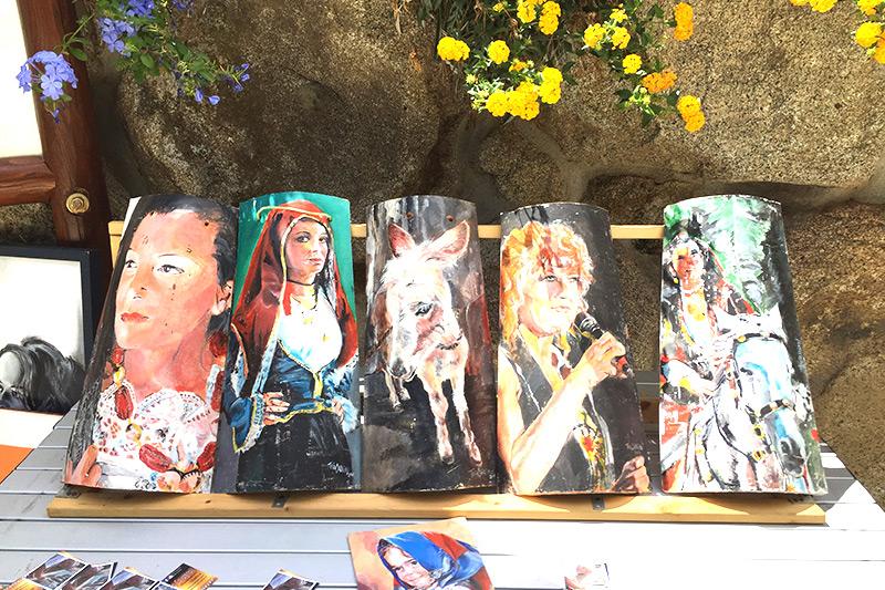 Laboratori d'arte in campeggio