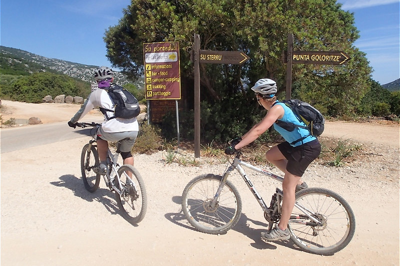 Escursioni in mountain bike in Sardegna