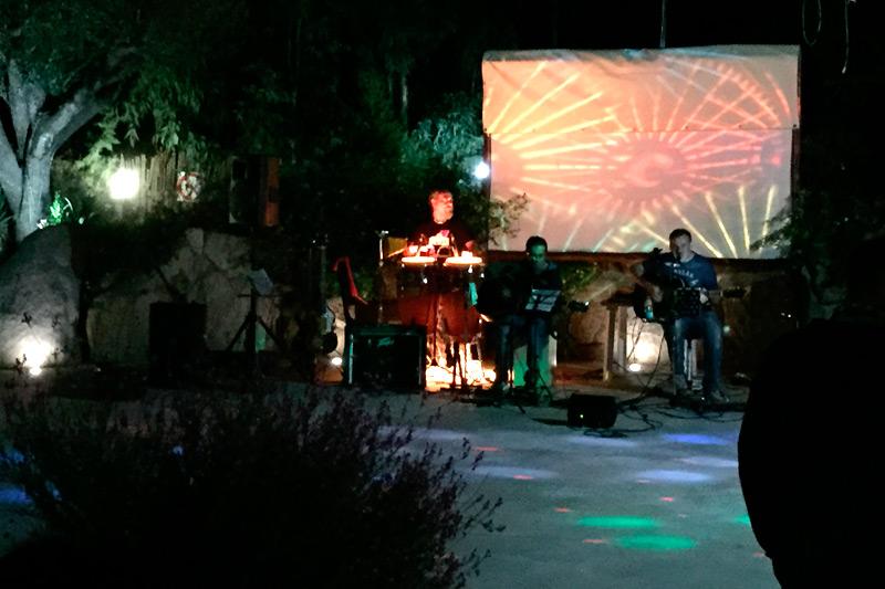 Musica dal vivo in campeggio