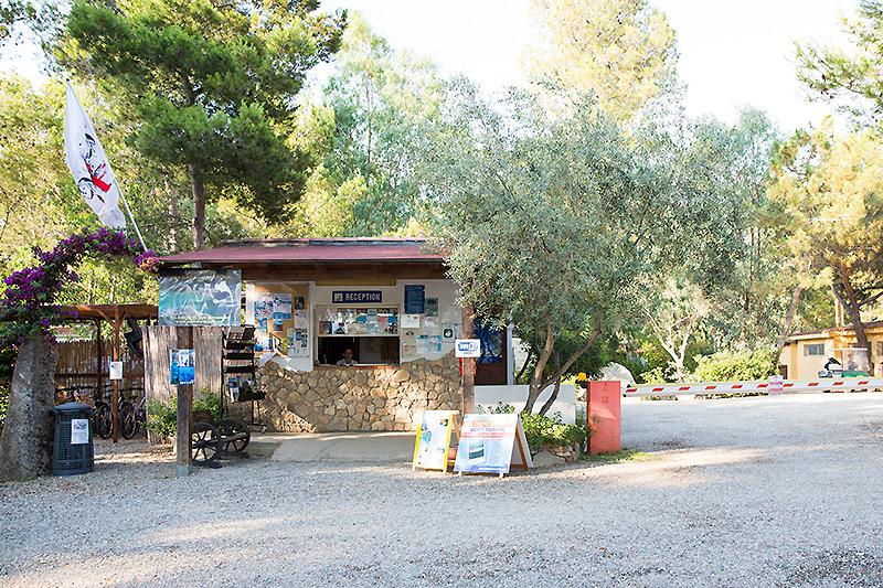 Reception campeggio