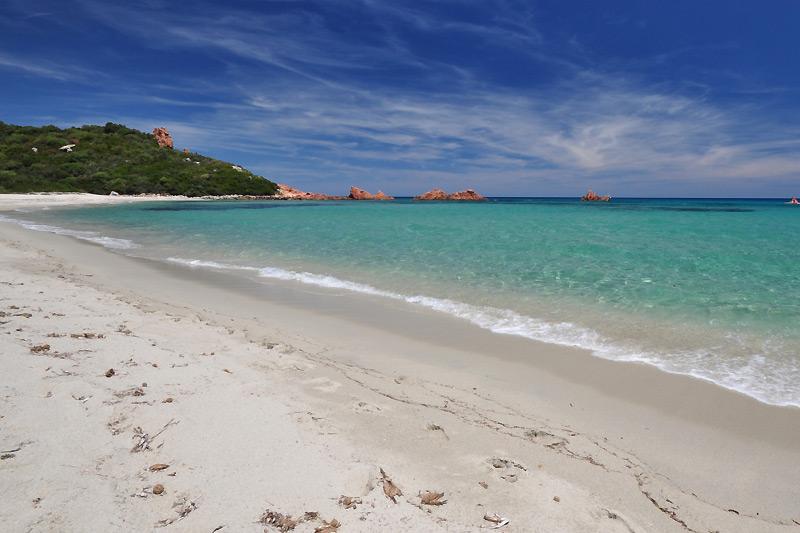 La spiaggia di Cea in Sardegna