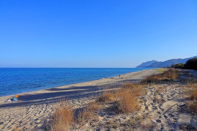 Spiaggia Planargia in Sardegna
