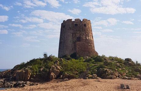 Torre_Spagnola_Barisardo_camping_la_pineta
